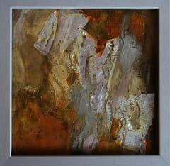 peintures abstraites petits formats par l'artiste peintre Frédérique Clément