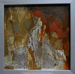 Peinture abstraite par l'artiste peintre Frédérique Clément